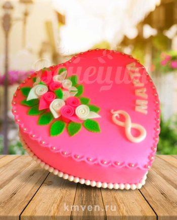 Торт 8 марта на заказ заказать праздник для женщин Тверь Венеция