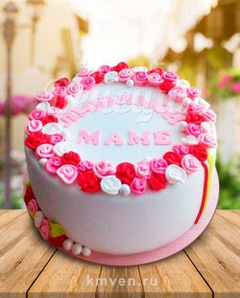 Торт на заказ заказать праздник Тверь Любимой Маме 8 марта женщине Венеция